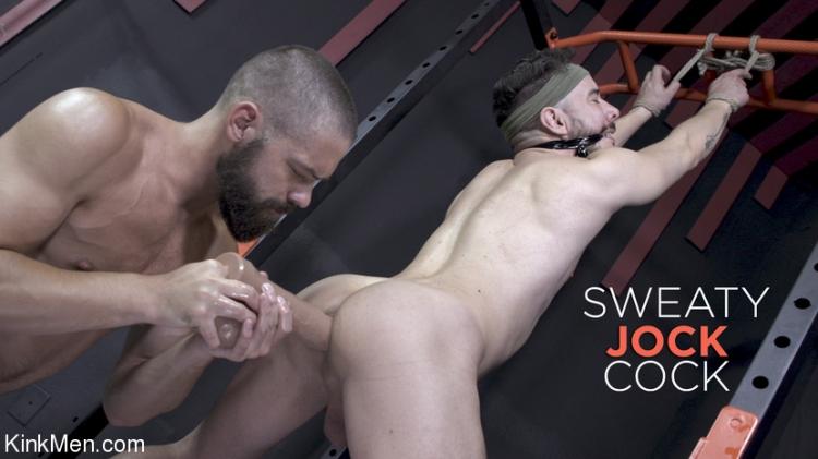 Sweaty Jock Cock: Jack Beam Reams Alessio Vega's Hole